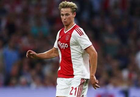 Barcelona & City target De Jong wants future call