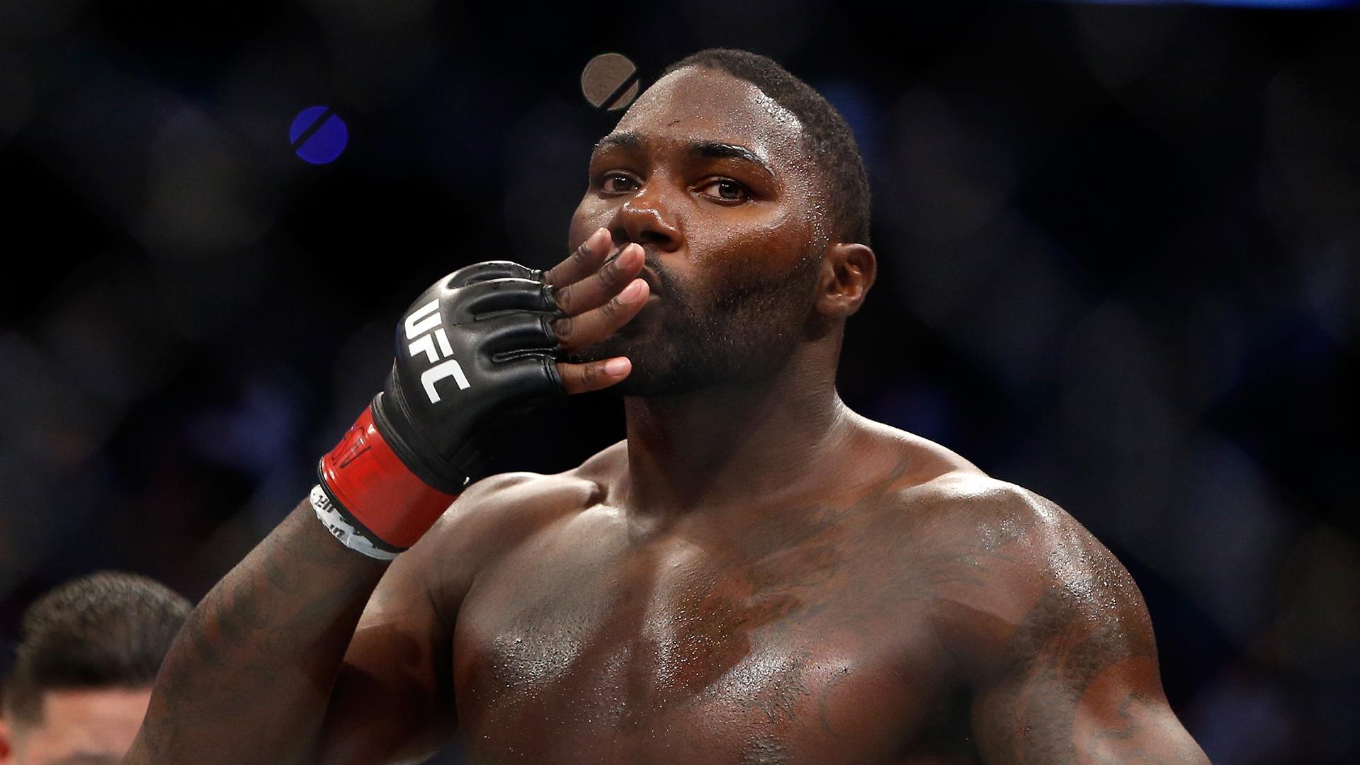 Anthony Johnson came back to fight Jon Jones at light heavyweight