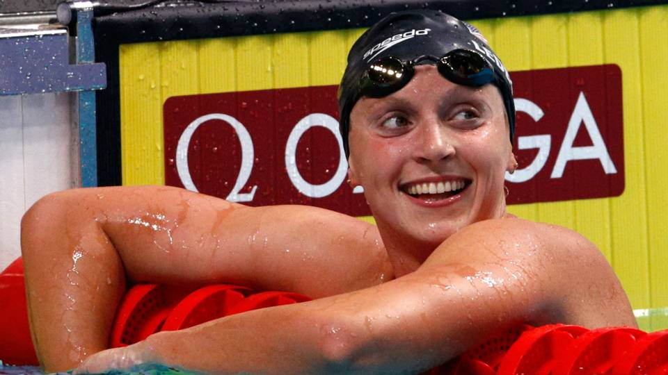 Olympic gold medalist Katie Ledecky turning pro