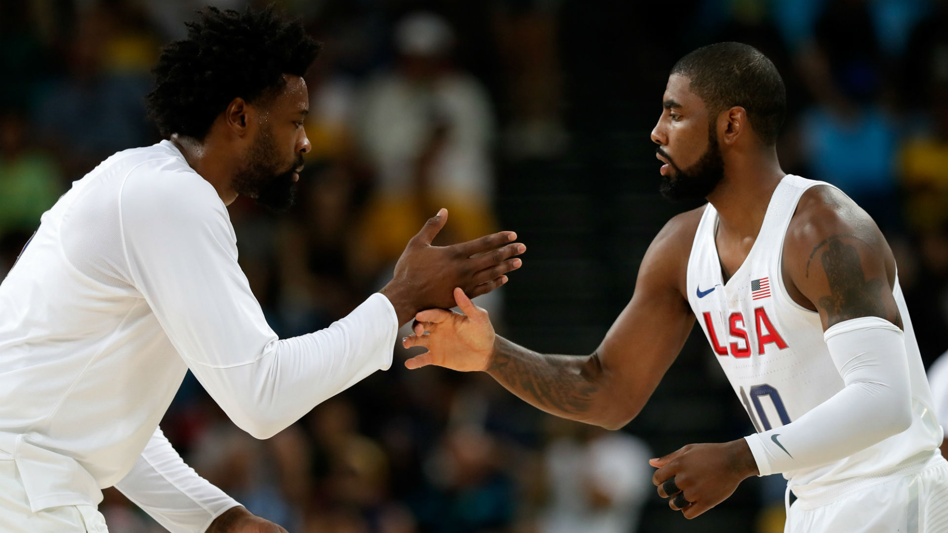 Kyrie Irving free agency rumors: Star guard recruiting DeAndre Jordan to join him, Kevin Durant on Nets