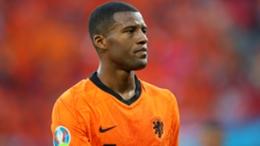 Netherlands midfielder Georginio Wijnaldum