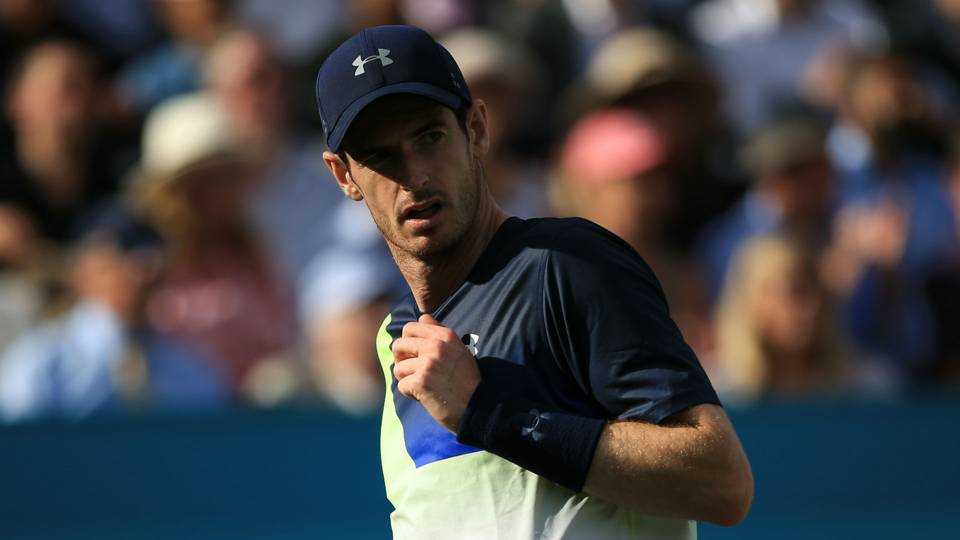 Andy Murray downs Stan Wawrinka at Eastbourne for first win in a year