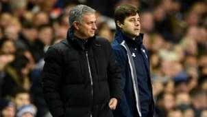 Jose Mourinho and Mauricio Pochettino - cropped
