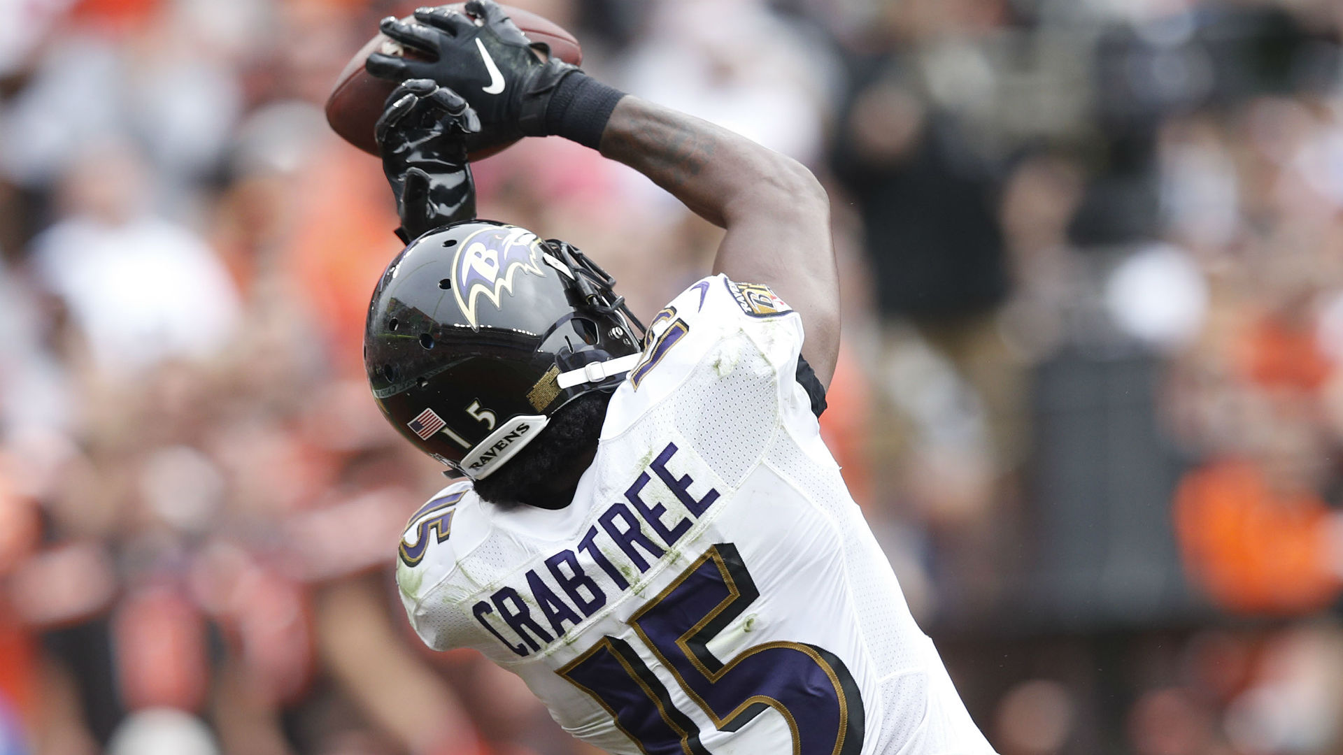 Cardinals agree to terms with wide receiver Michael Crabtree