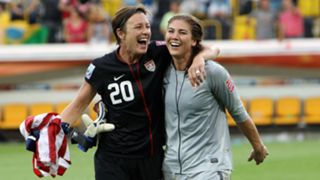 Abby Wambach, Hope Solo at 2011 World Cup
