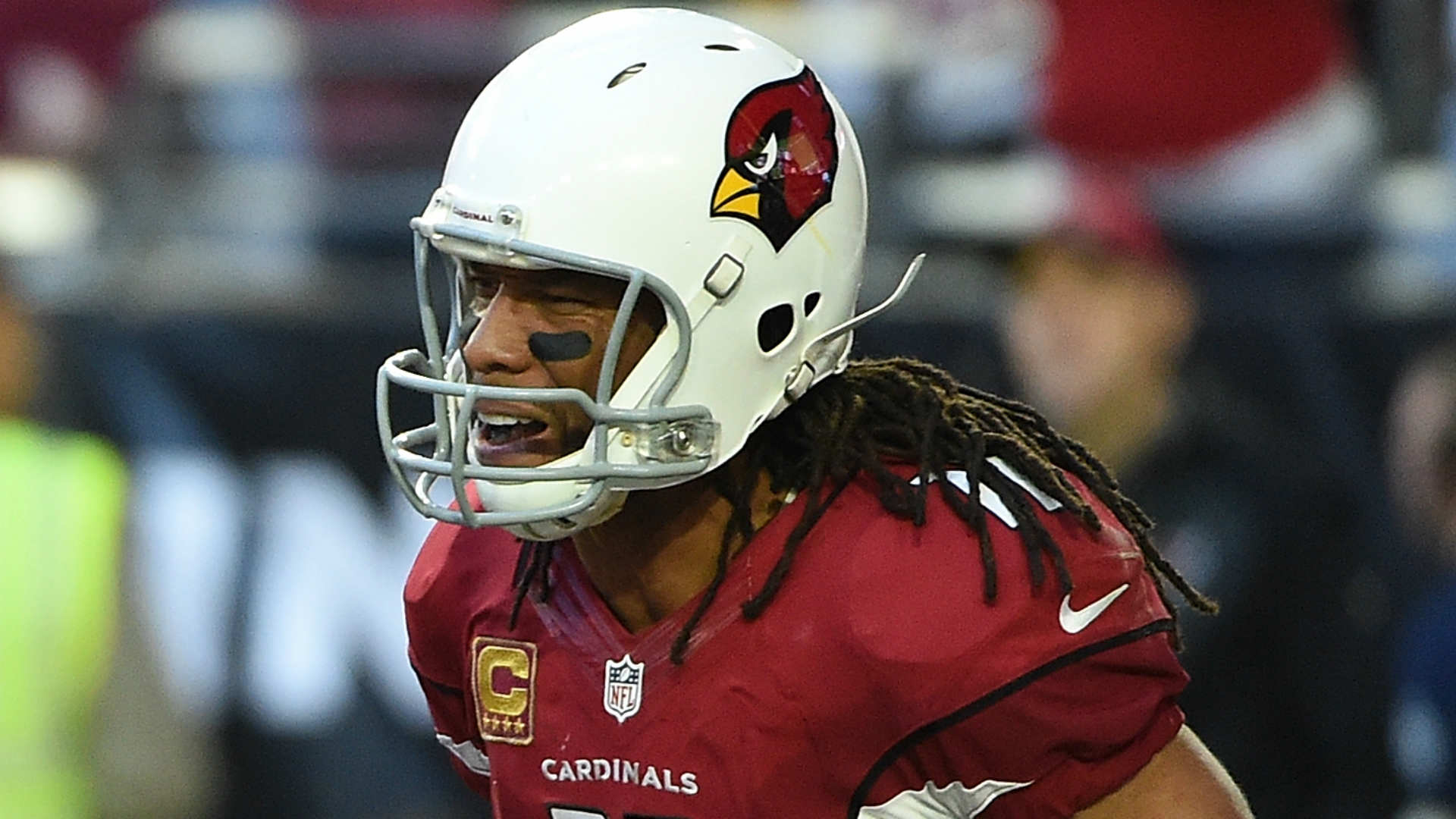 Larry Fitzgerald becomes sixth NFL receiver to reach 15,000 yards