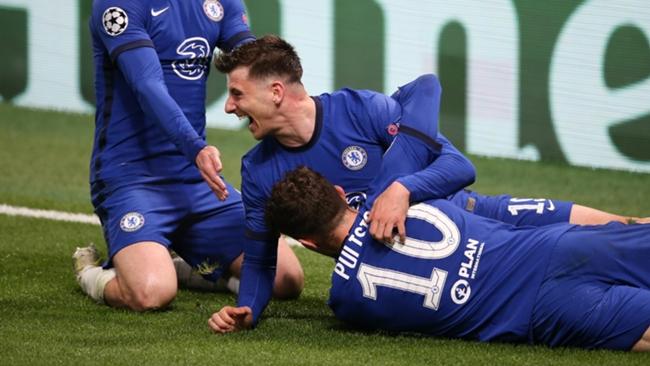 Mason Mount made sure of Chelsea's Champions League final spot