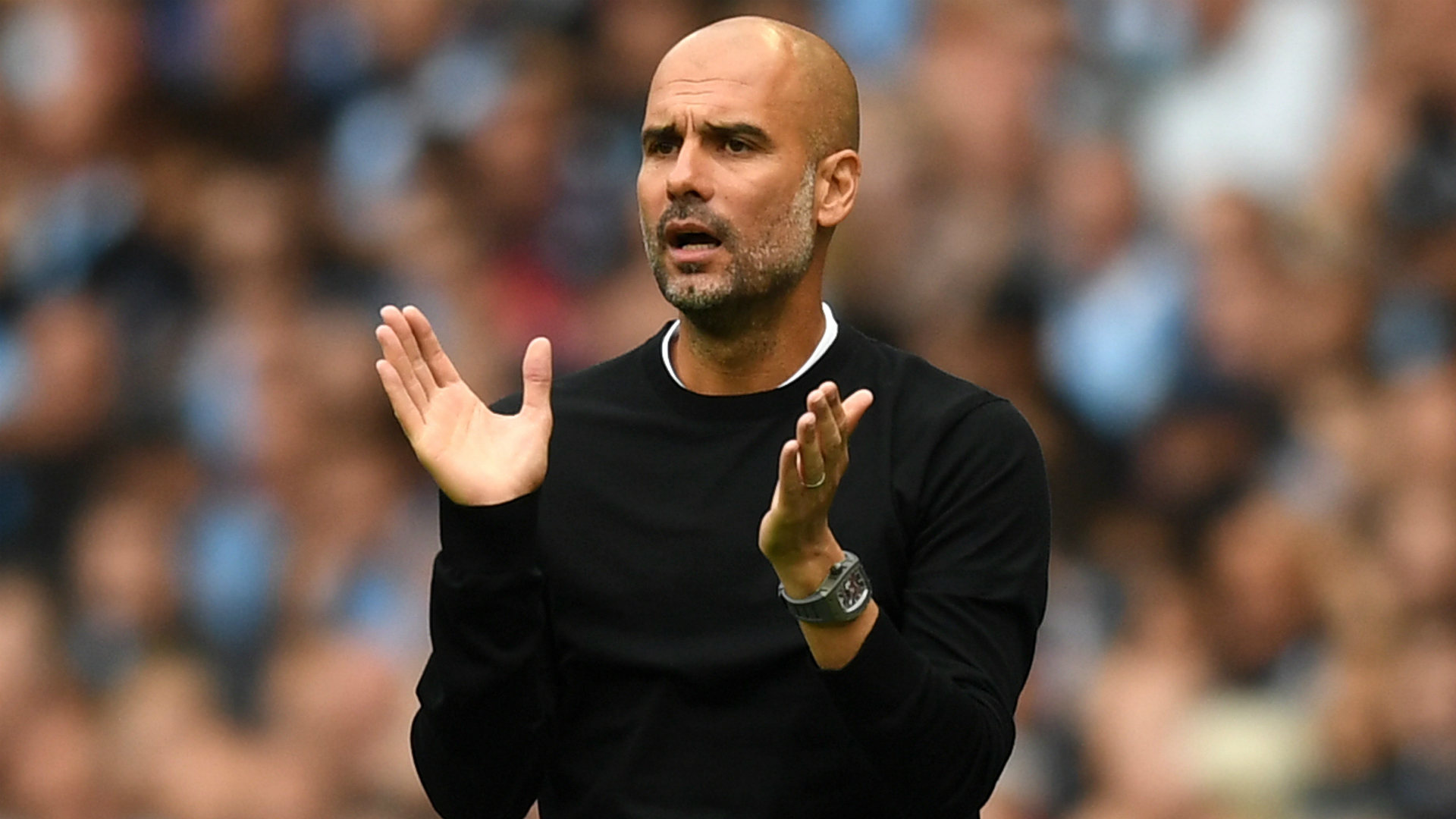 Manchester City boss Pep Guardiola defends Leroy Sane over body language criticism