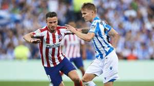Real Sociedad 2-0 Atletico Madrid: Monreal scores on debut as Simeone's side slump to first LaLiga defeat