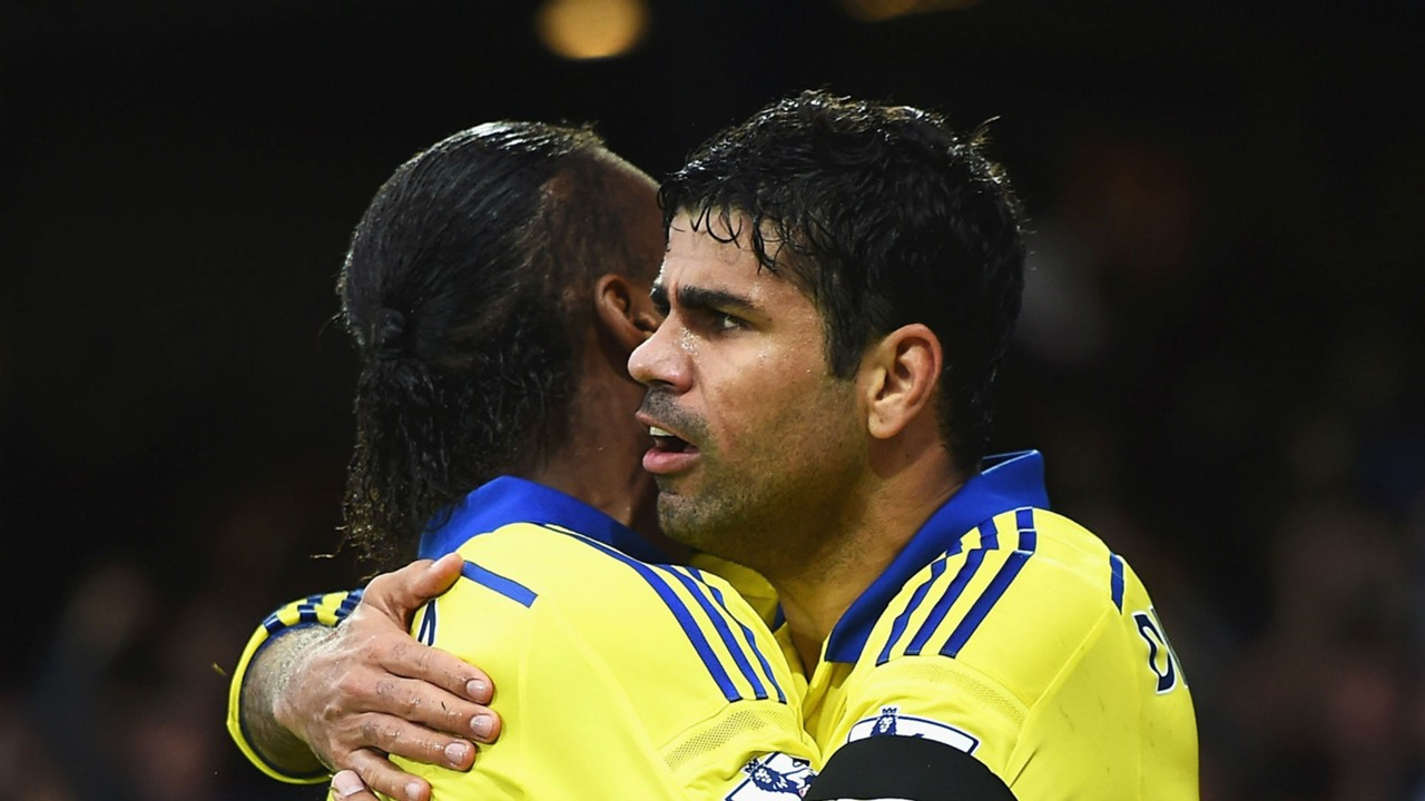 Diego Costa Di r Drogba fantastic with me at Chelsea