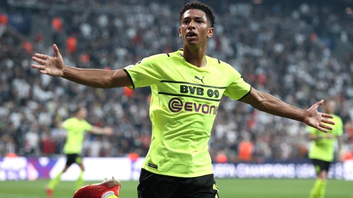 Borussia Dortmund sensation Jude Bellingham