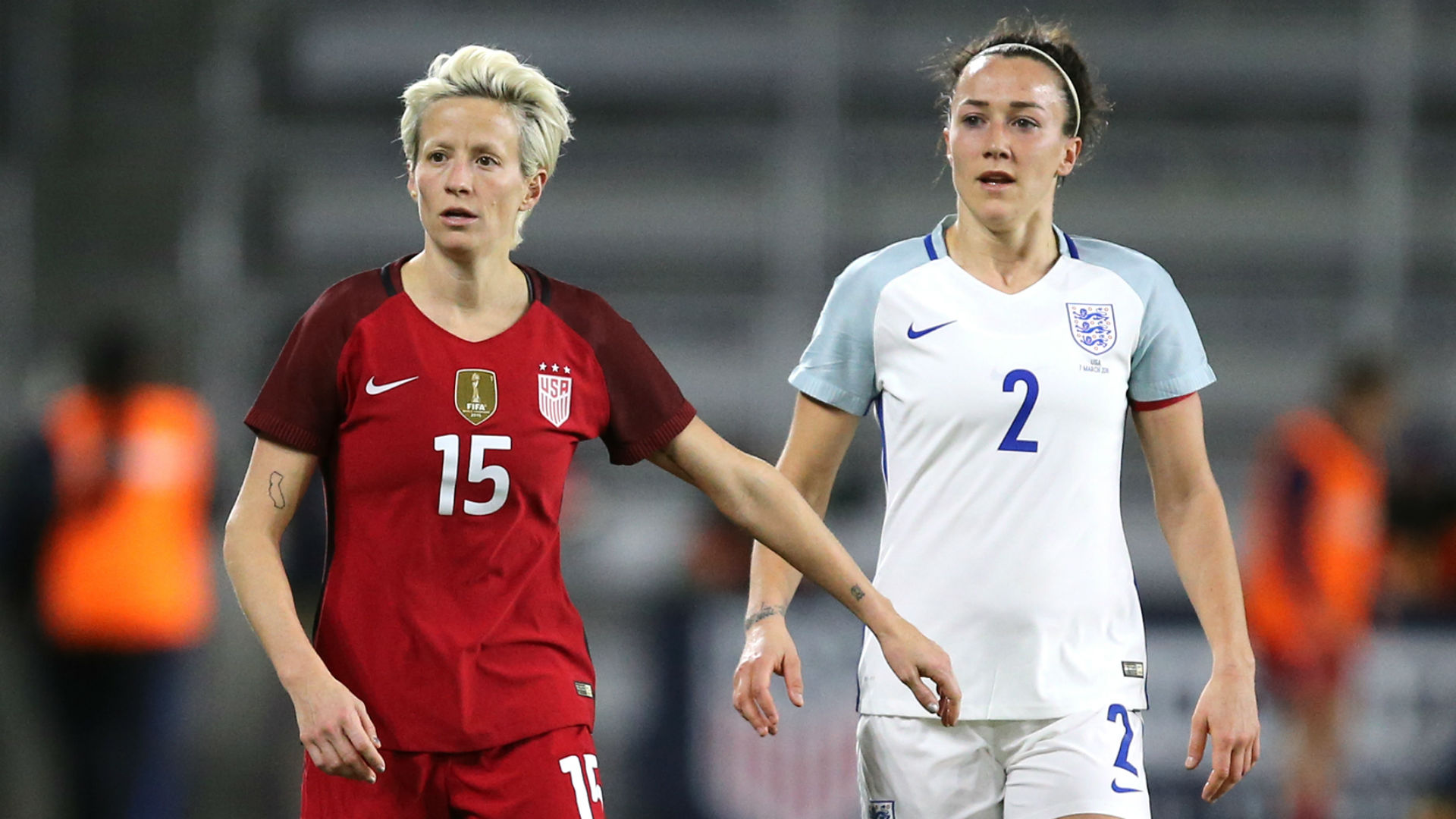 USA vs. England: How key players Megan Rapinoe and Lucy Bronze match up