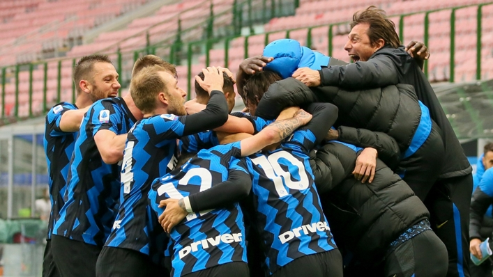 Antonio Conte's Inter Milan are marching towards Serie A glory