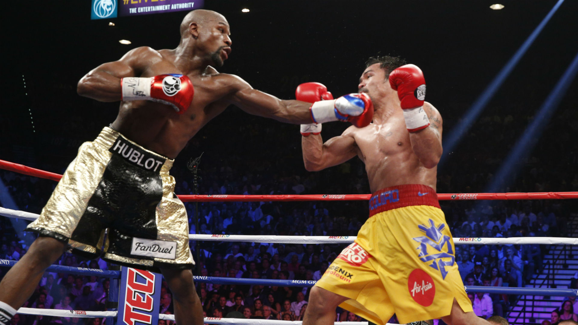Manny Pacquiao trolls Floyd Mayweather in since-deleted tweet