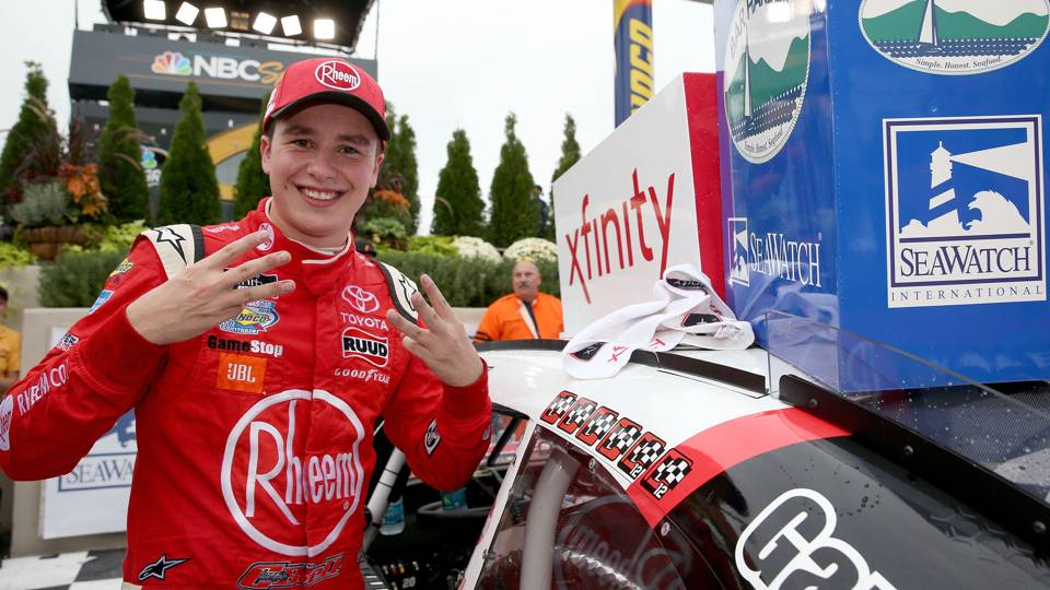 Christopher Bell breaks Kyle Busch's record for Xfinity wins by rookie