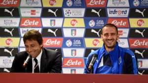 Leonardo Bonucci and Antonio Conte - cropped