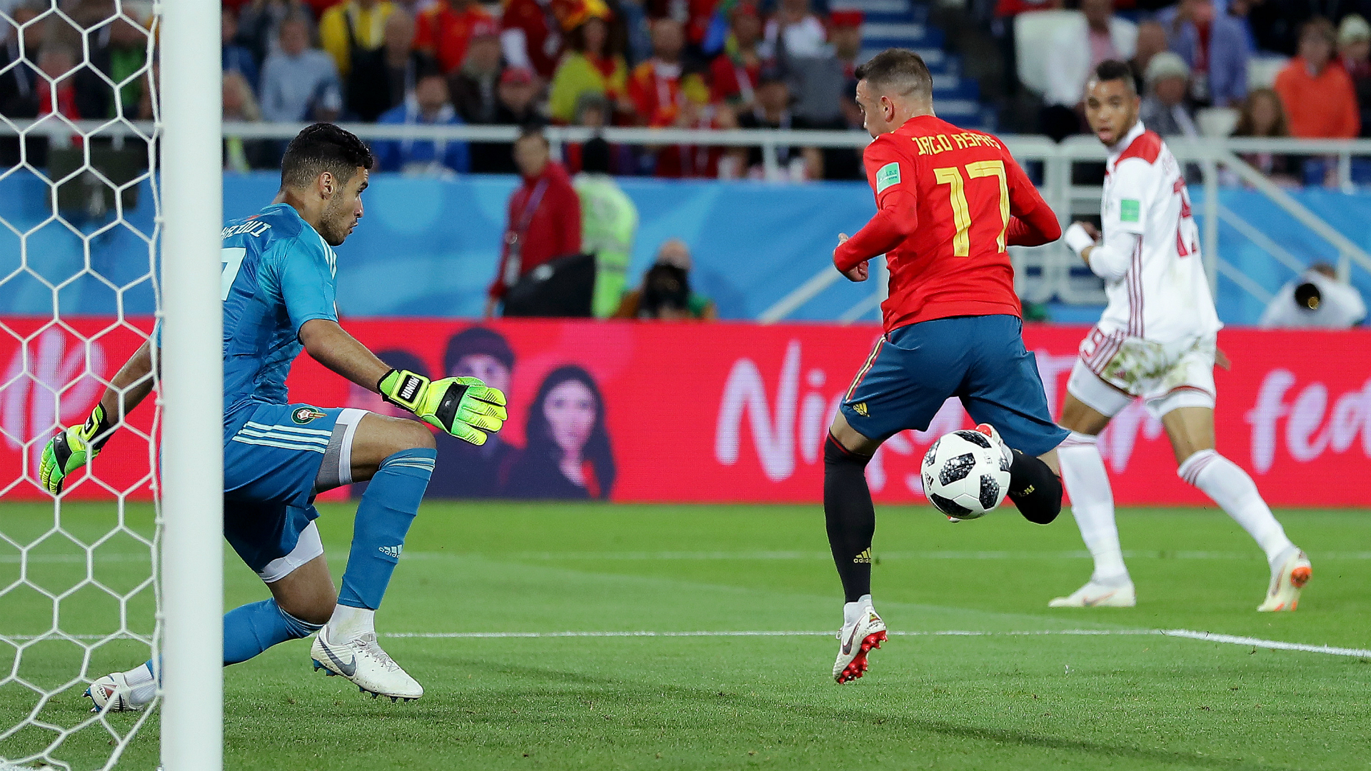 VAR to the rescue as nervy Spain finish top