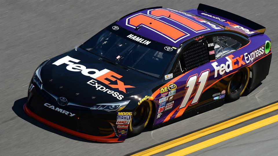NASCAR starting lineup at Michigan: Denny Hamlin wins second consecutive pole; Kyle Busch 2nd