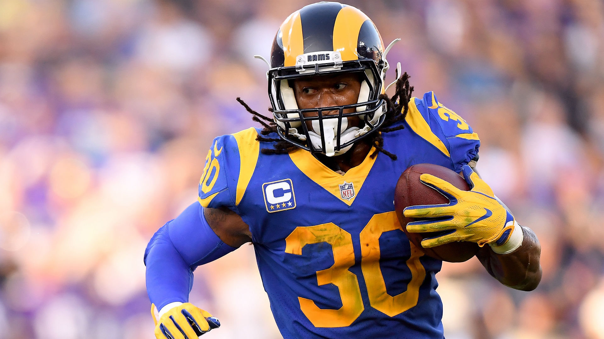 758efd89 Rams RB Todd Gurley expected to play vs. Cowboys | Sporting News