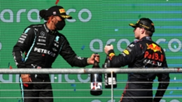 Lewis Hamilton and Max Verstappen are battling it out for the F1 title
