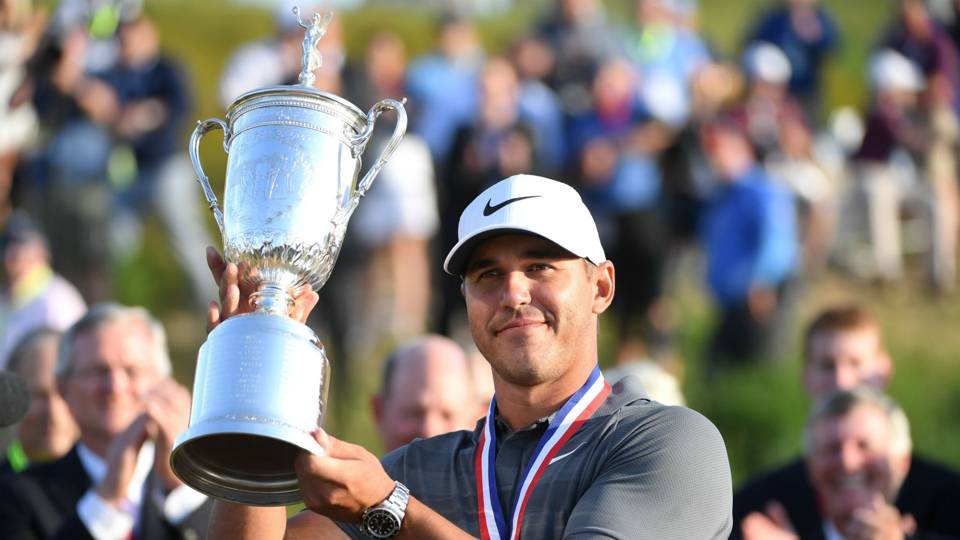 Double major winner Brooks Koepka named 2017-18 PGA Tour Player of the Year