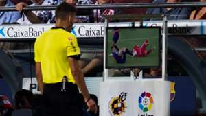 Jesus Gil Manzano checks VAR
