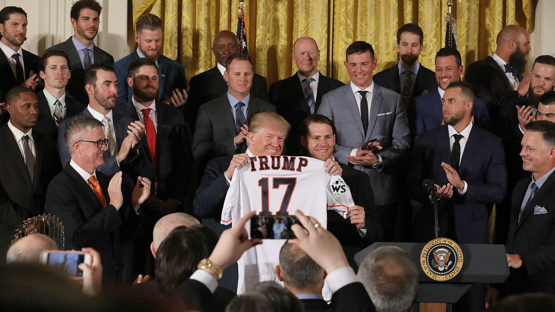 bdcac0ba2 Carlos Correa skips Astros  trip to White House