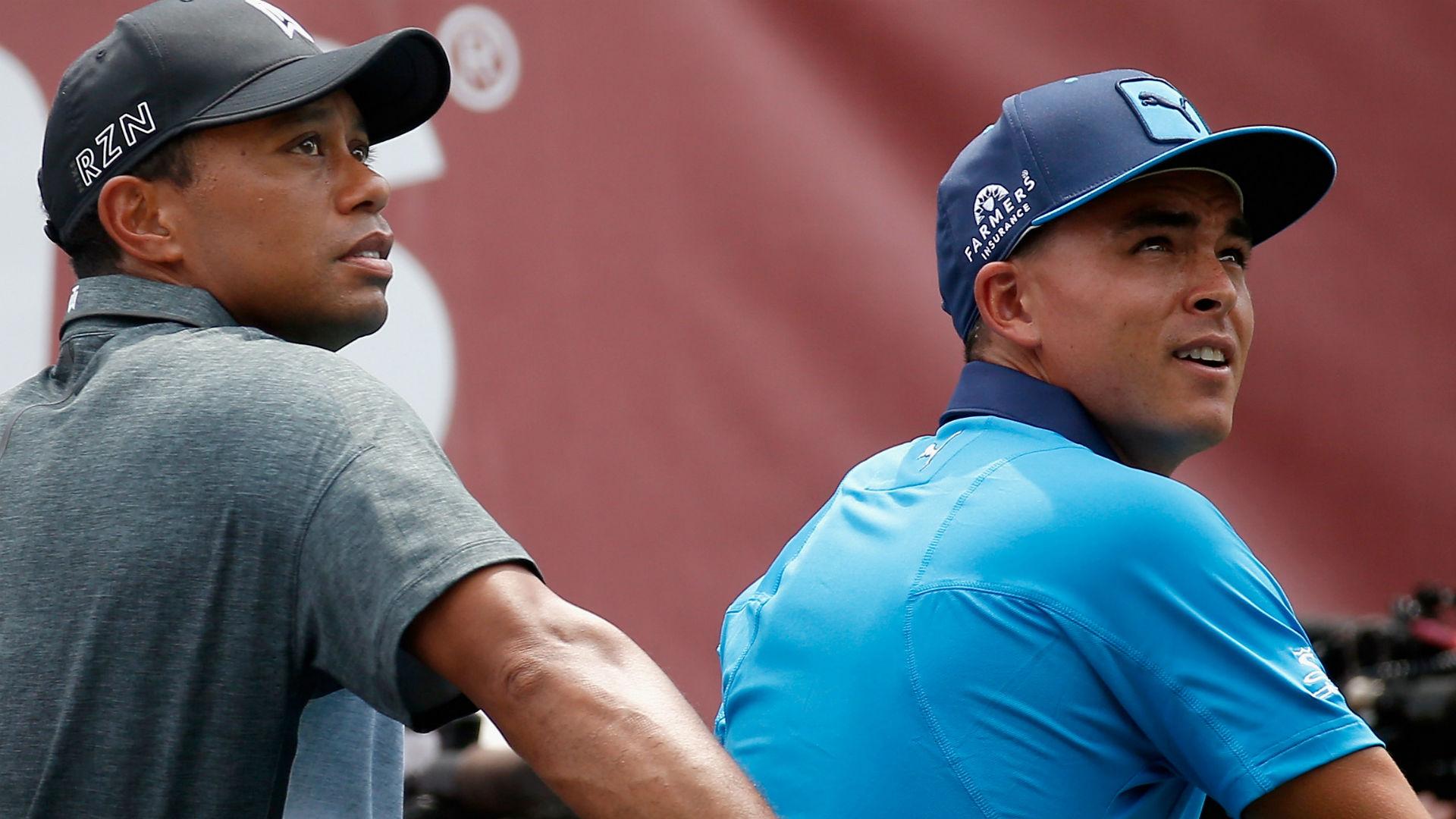 Rickie Fowler confirms Tiger Woods crushing golf ball