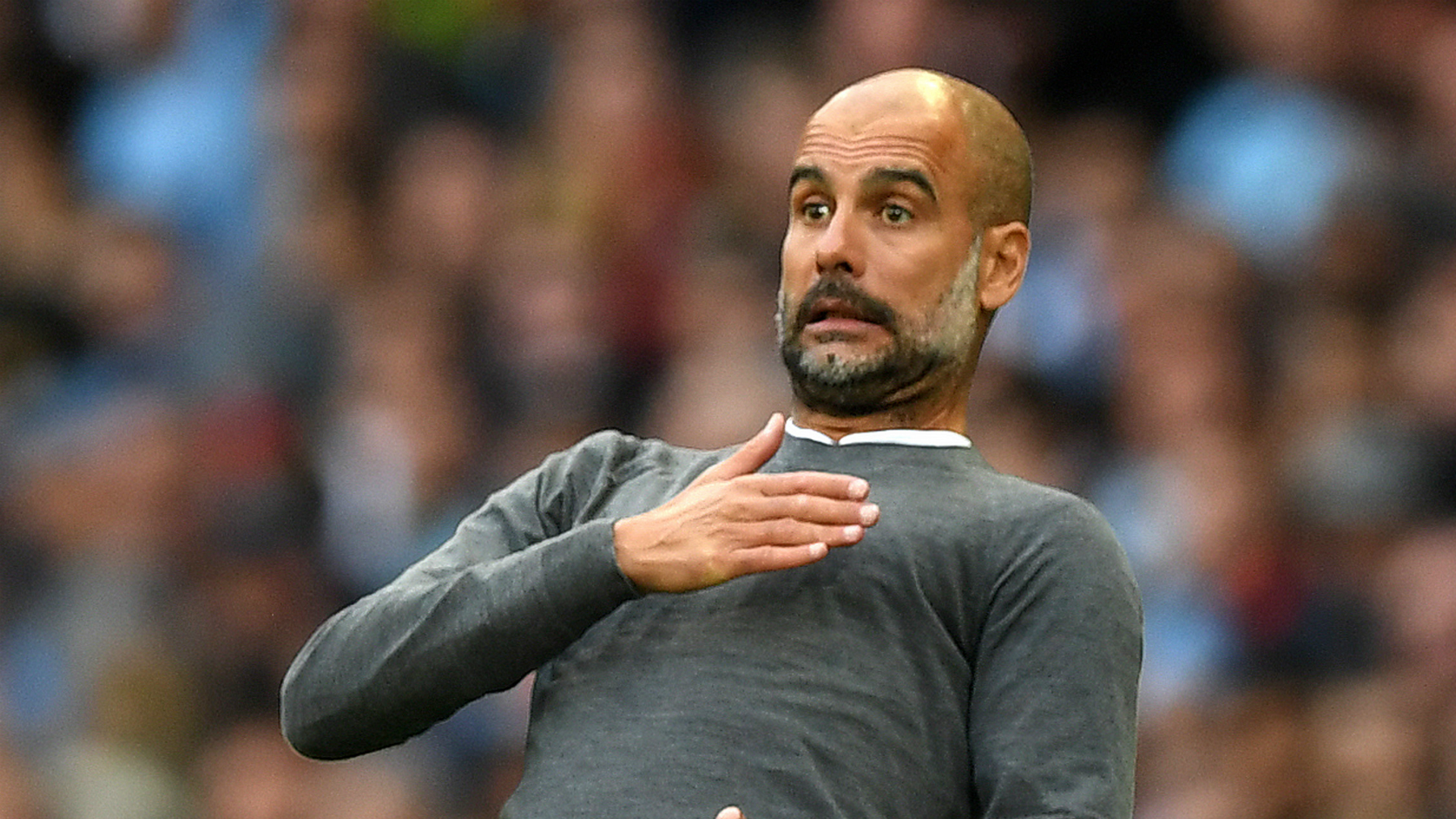 I couldn't 'train another team in England', says Guardiola