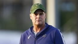 South Africa director of rugby Rassie Erasmus