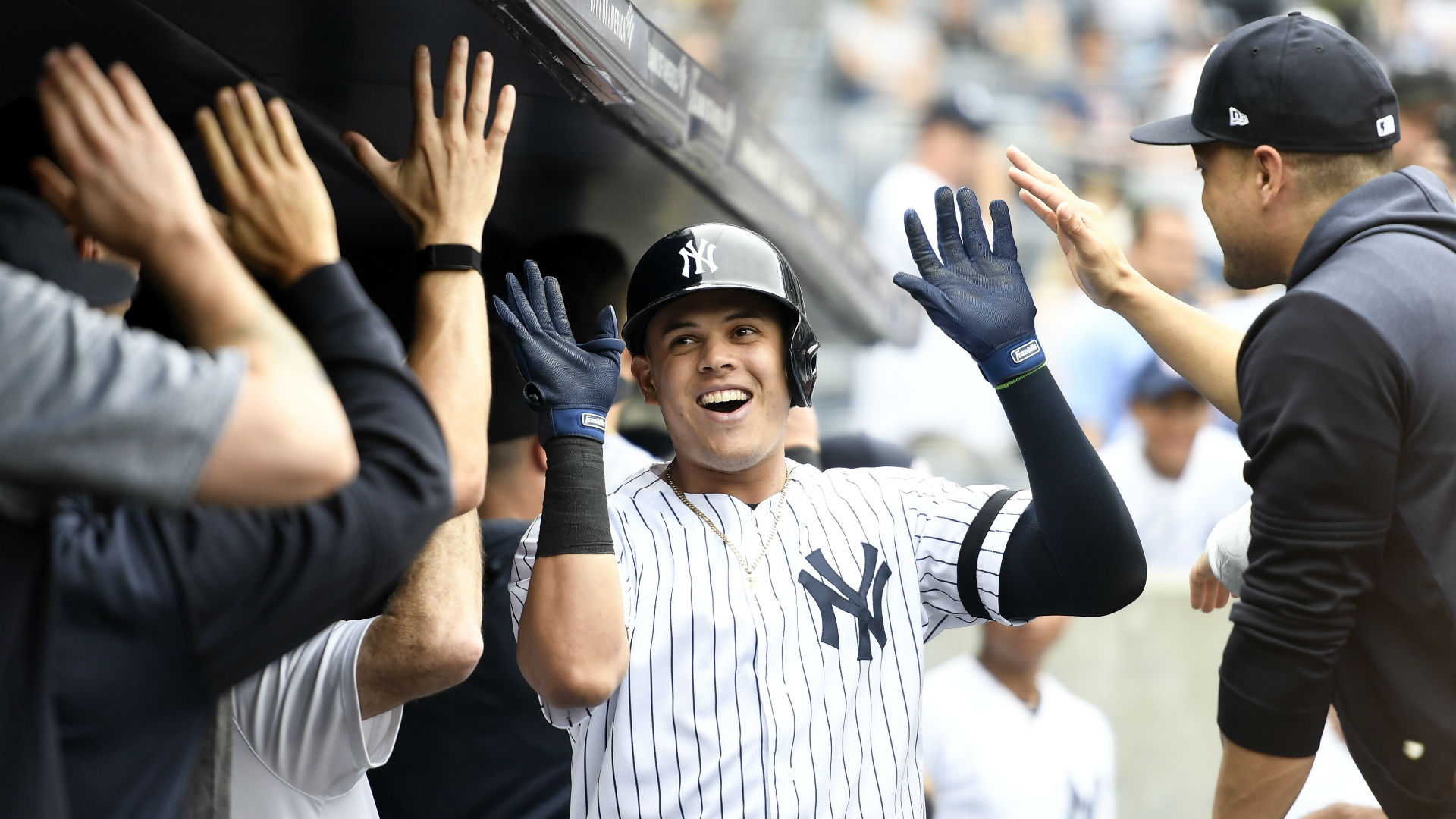 Gio Urshela surprises Yankees: 'Nobody thought Gio would be this guy'