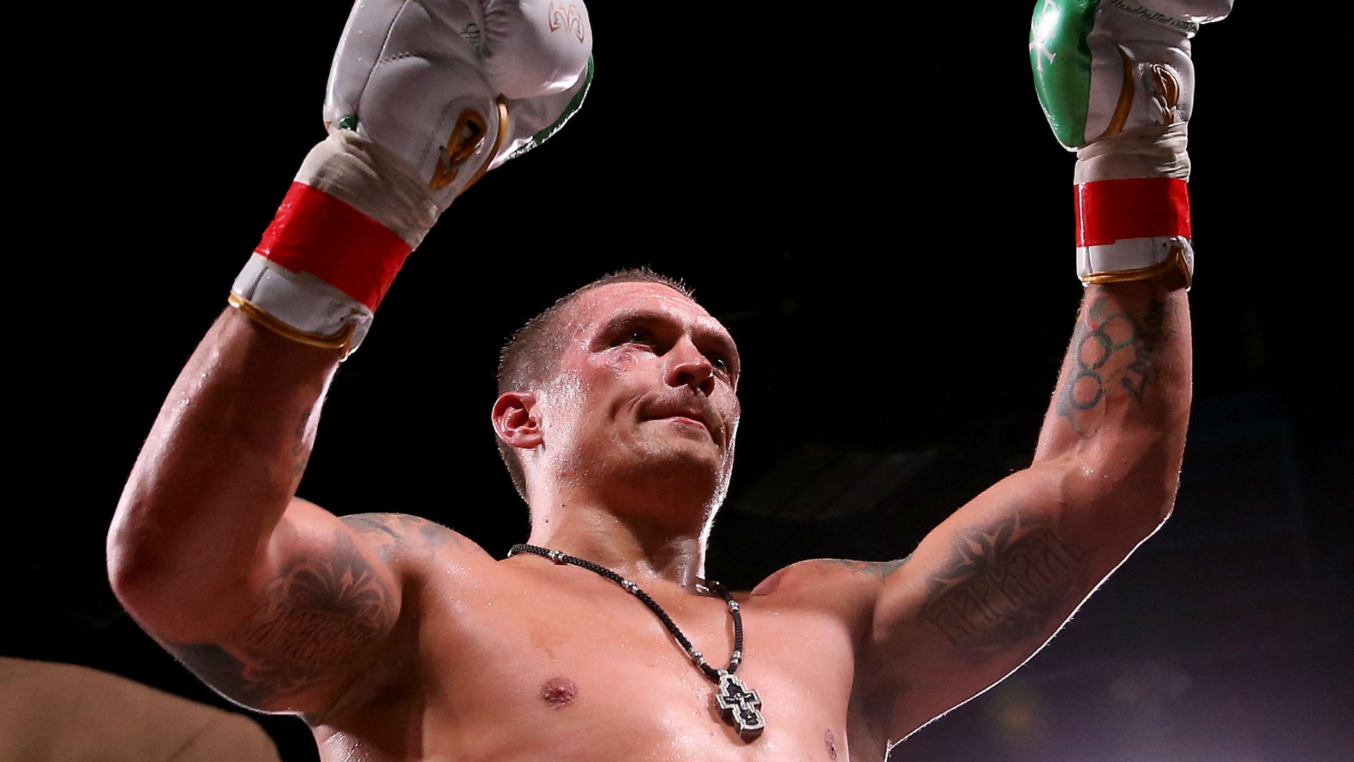 Oleksandr Usyk eyes Anthony Joshua showdown after victorious heavyweight debut