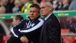craig shakespeare claudio ranieri - cropped