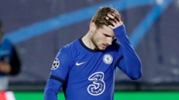 Chelsea forward Timo Werner