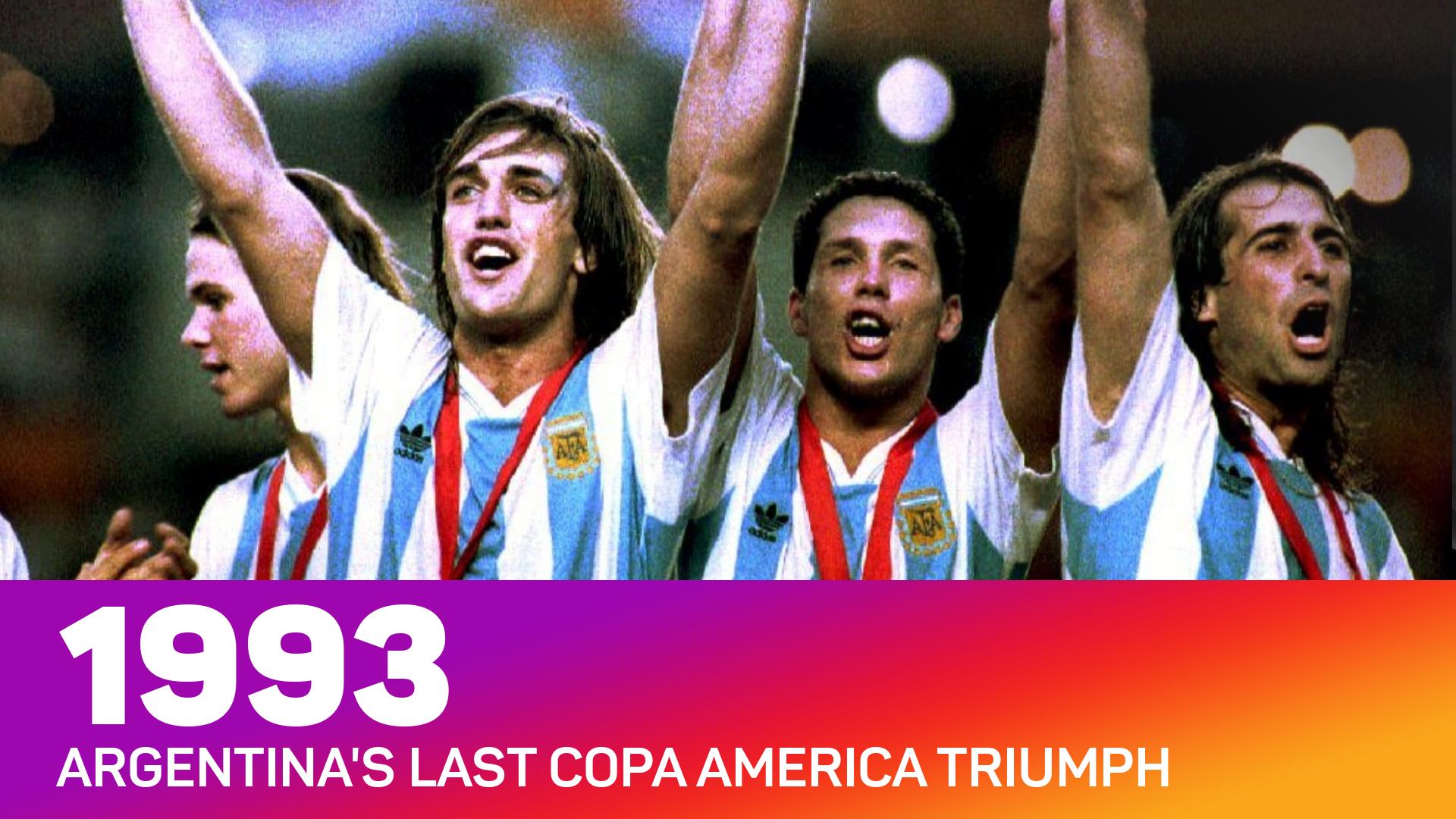 Argentina - 1993 Copa America winners