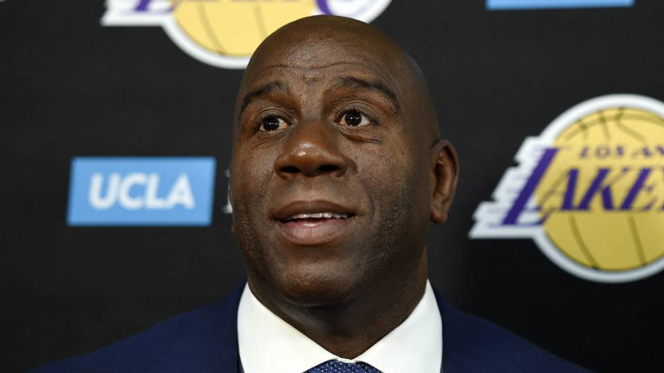 Magic Johnson weighs in on new Lakers-Warriors rivalry: 'I'm not scared of Golden State'