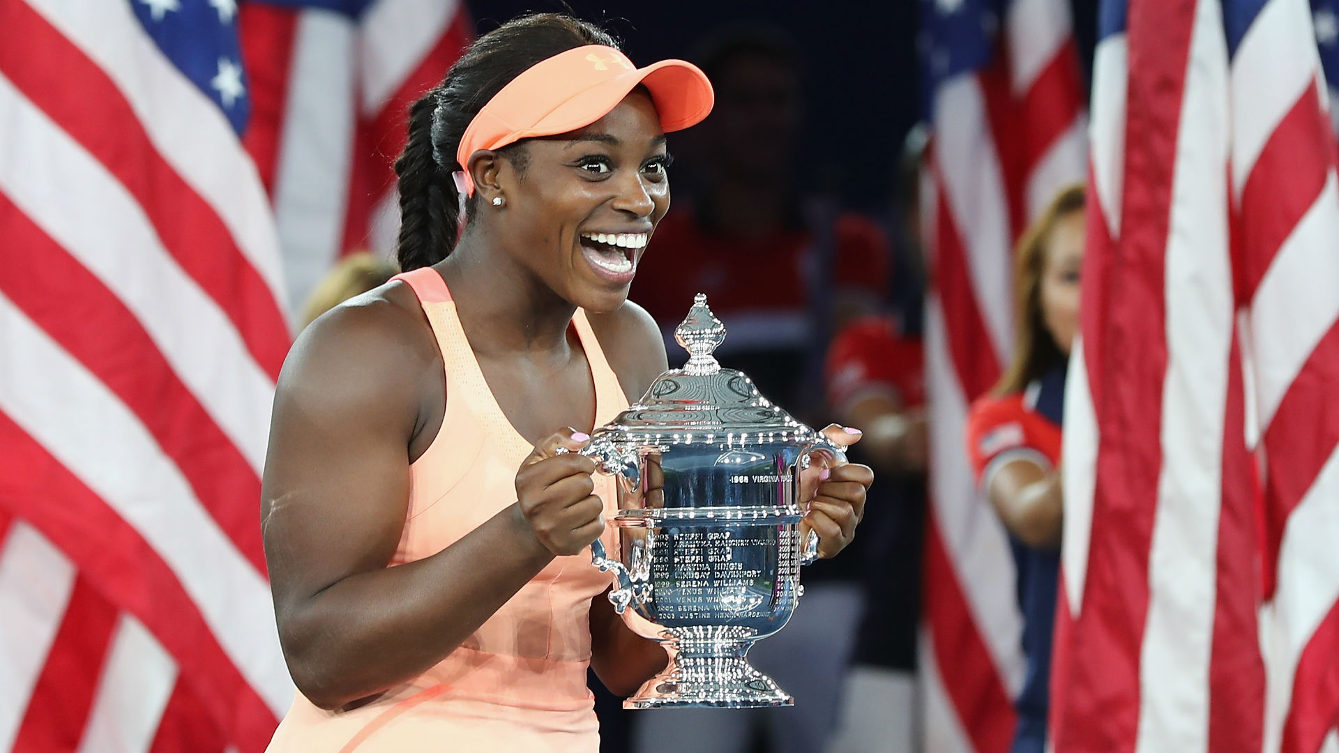 Sloane Stephens on U.S. Open win: 'I should just retire now, I'm never going to top this'