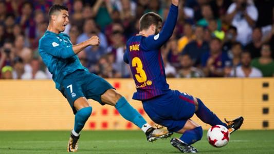 Cristiano Ronaldo Gerard Pique - cropped