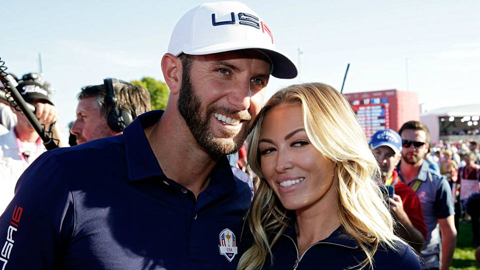 Tour Championship: Dustin Johnson addresses rumors regarding fiancée Paulina Gretzky