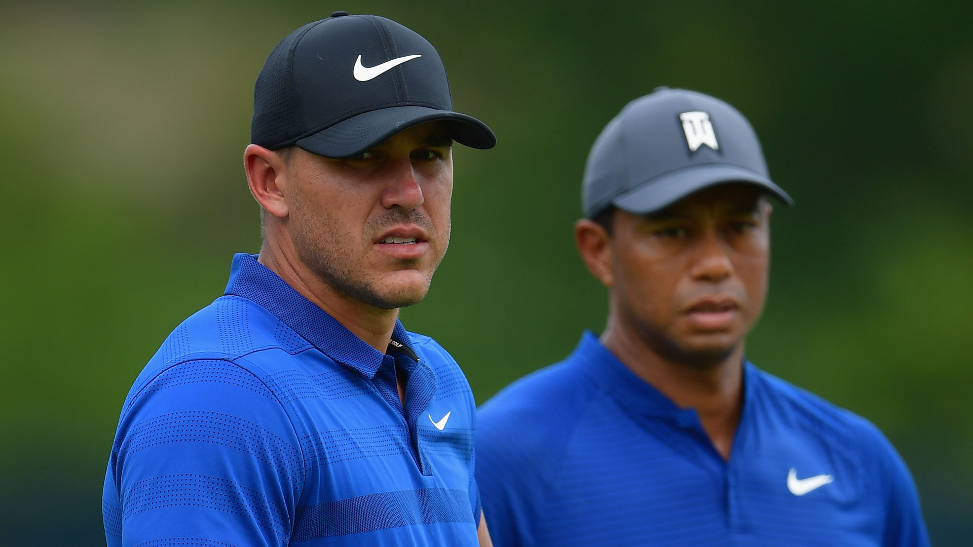 Image result for brooks koepka tiger woods