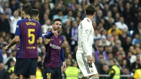 969bb6f174fd El Clasico: Lionel Messi had blood in his mouth – Pique   Goal.com