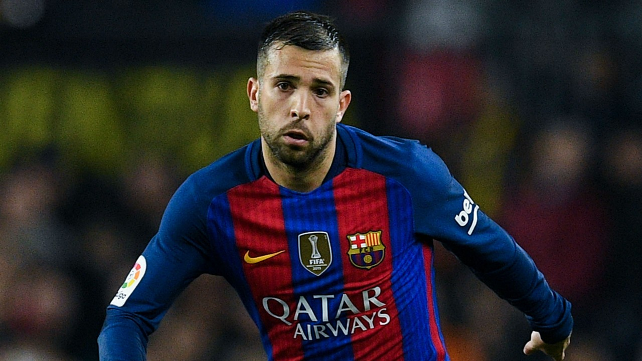 Barcelona Jordi Alba ignoring Theo Hernandez rumours