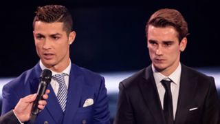 Cristiano Ronaldo and Antoine Griezmann - cropped