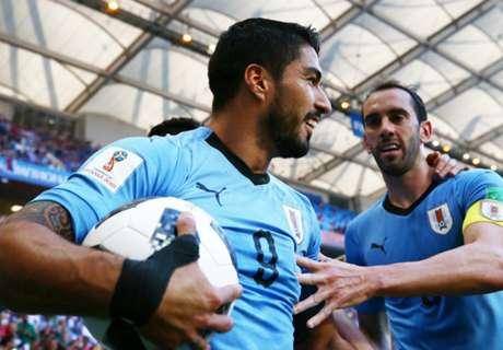 World Cup: Uruguay 1 Saudi Arabia 0