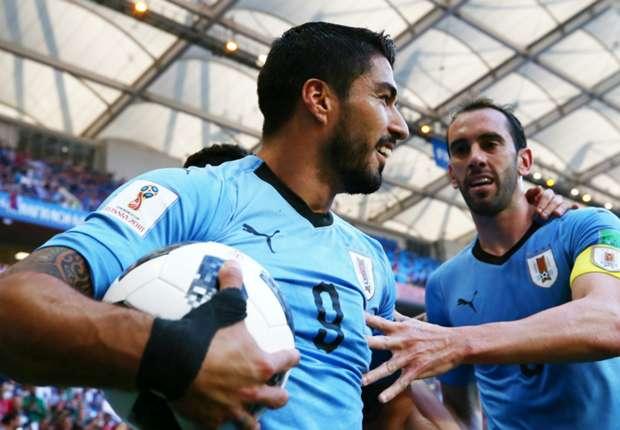 Uruguay and Barcelona forward Luis Suarez