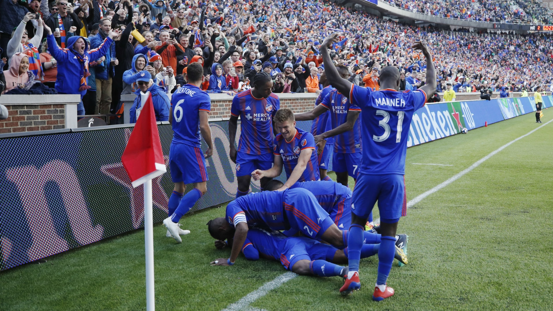 MLS wrap: Kendall Waston creates history on memorable day for FC Cincinnati