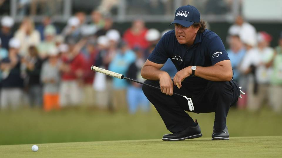 Phil Mickelson made statement over 'outrageous' conditions, Brooks Koepka's coach says