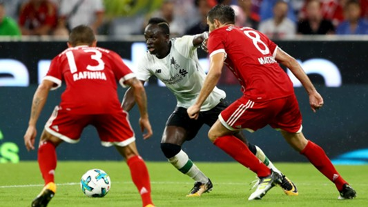 Bayern Liverpool Detail: Bayern München V Liverpool Match Report, 01/08/2017, Audi
