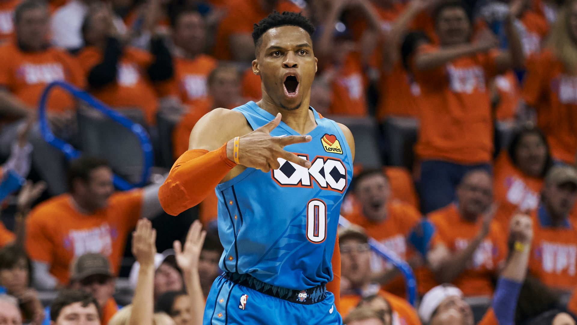 This is a picture of Russell Westbrook