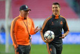 CarloAncelottiandCristiano Ronaldo